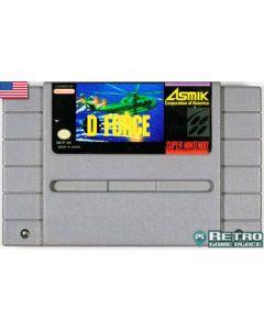 Jeu D-Force pour Super NES