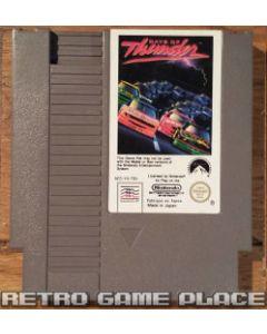 Jeu Days of Thunder pour NES