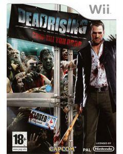 Jeu Dead Rising Chop Till you Drop pour Wii