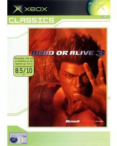 Jeu Dead or Alive 3 Classics pour Xbox