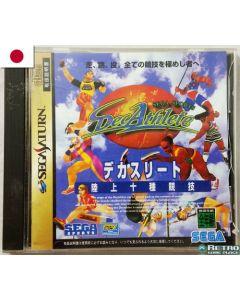 Jeu Decathlete pour Sega Saturn