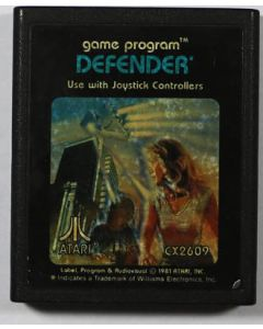Jeu Defender pour Atari 2600
