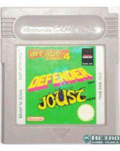 Jeu Defender Joust pour Game Boy