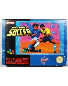 Jeu Dino Dini's soccer pour Super Nintendo