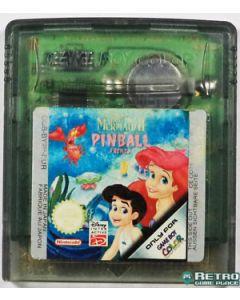 Jeu Disney La petite sirène Pinball frenzy pour Game Boy Color