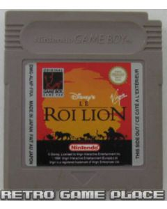 Jeu Disney Le Roi Lion pour Game Boy