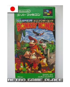Jeu Donkey Kong Country pour Super Famicom