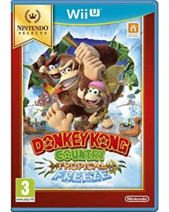 Jeu Donkey Kong Country Tropical Freeze Nintendo Selects pour Wii U