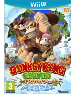 Jeu Donkey Kong Country Tropical Freeze pour Wii U