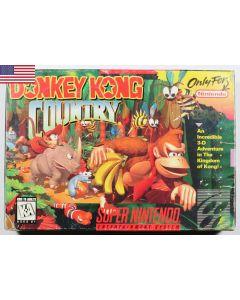 Jeu Donkey kong country pour Super NES