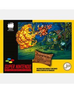 Jeu Dorke & Ymp pour Super Nintendo