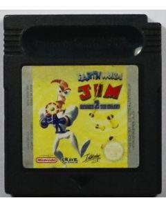 Jeu Earthworm Jim Menace 2 the Galaxy pour Game Boy