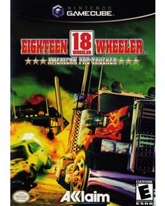 Jeu Eighteen Wheeler American Pro Trucker pour Gamecube