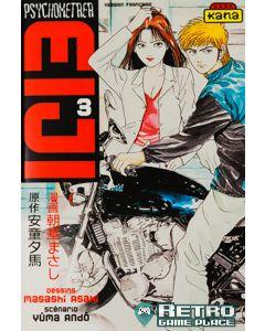 Manga Psychometrer Eiji tome 3