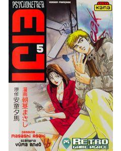 Manga Psychometrer Eiji tome 5