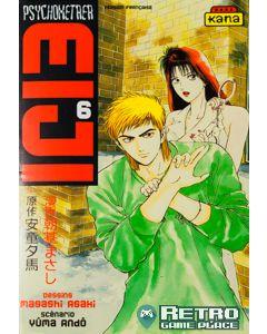 Manga Psychometrer Eiji tome 6