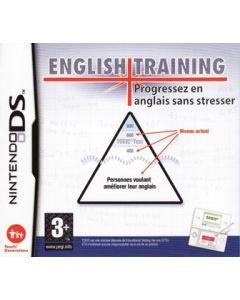 Jeu English Training - Progressez en anglais sans stresser pour Nintendo DS