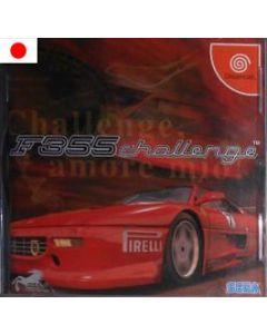 Jeu F 355 Challenge pour Dreamcast