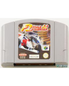 Jeu F1 Pole position 64 pour Nintendo 64