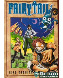 Manga Fairy tail tome 4