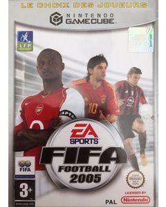 Jeu Fifa Football 2005 Platinum pour Gamecube