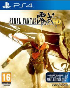 Jeu Final Fantasy Type-0 HD pour PS4