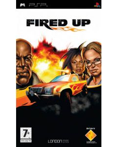 Jeu Fired Up pour PSP