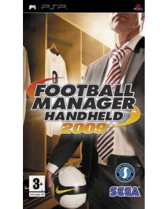 Jeu Football Manager Handheld 2009 pour PSP