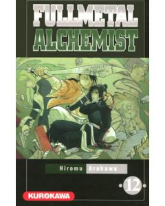 Manga Full Metal Alchemist tome 12