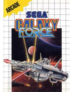 Jeu Galaxy Force pour Master System