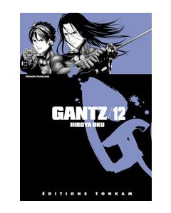 Manga Gantz tome 12