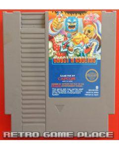 Jeu Ghost'n Goblins pour NES