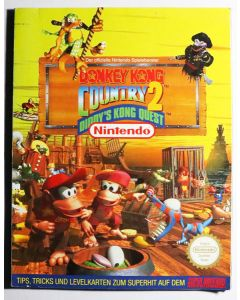Jeu Guide Officiel Donkey Kong Country 2 (allemand)