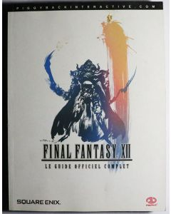 Jeu Guide Officiel Final Fantasy 12