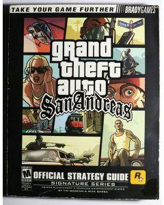 Jeu Guide Officiel Gran Theft Auto San Andreas (Anglais)