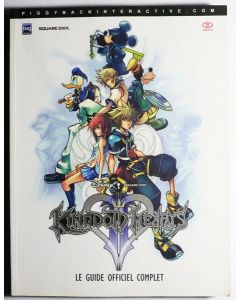 Jeu Guide Officiel Kingdom Hearts 2