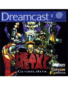 Jeu Heavy Metal Geomatrix pour Dreamcast