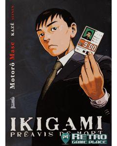 Manga Ikigami tome 1