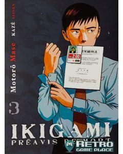 Manga Ikigami tome 3