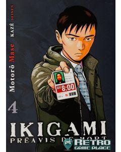 Manga Ikigami tome 4