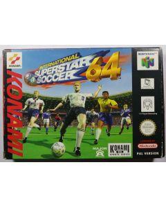 Jeu International Superstar soccer 64 pour Nintendo 64