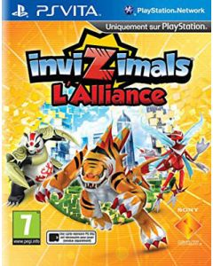 Jeu Invizimals L'Alliance pour PS Vita