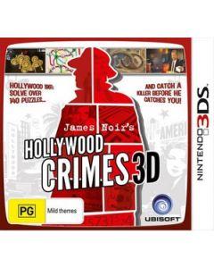 Jeu James Noir's Hollywood Crimes pour Nintendo 3DS