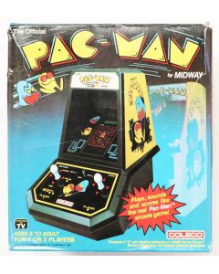 Jeu Pac-Man Coleco en boîte