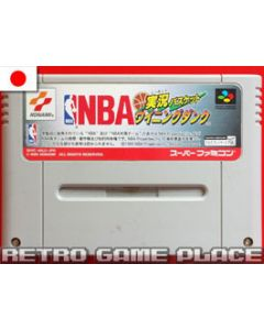 Jeu Jikkyou NBA Basket pour Super Famicom