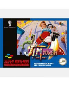 Jeu Jim Power in Mutant Planet pour Super Nintendo