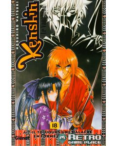 Manga Kenshin le vagabond tome 18