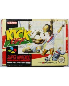 Jeu Kick off pour Super Nintendo