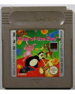 Jeu King of the zoo pour Game Boy
