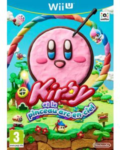 Jeu Kirby et le Pinceau arc en Ciel (neuf) pour Wii U